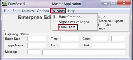 E-mail Wizard to test SMTP connection - E-mailing - Support