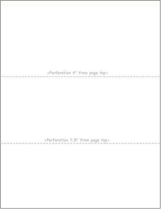 invoice deposit paper